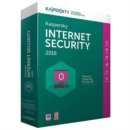 Logiciel antivirus Kaspersky Internet Security 2016