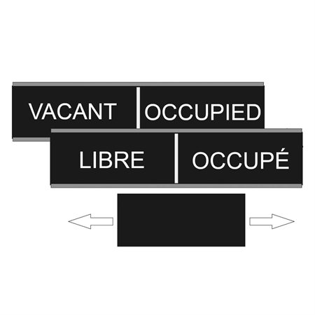 Occupied / Vacant Wall Sign
