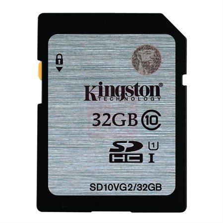 Carte mémoire SDHC Classe 10 32 Go