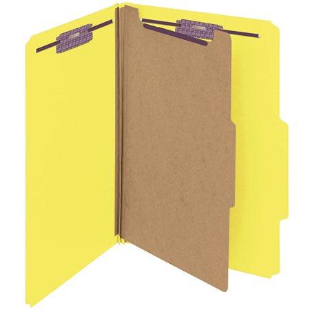 Chemise de classement couleur en carton pressé