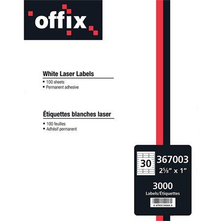 ETIQ,LASER  2.6 X1'' OFFIX (3000)