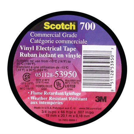 Ruban isolant en vinyle Scotch® 700
