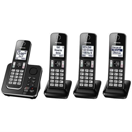 Téléphone sans fil KX-TGD39x
