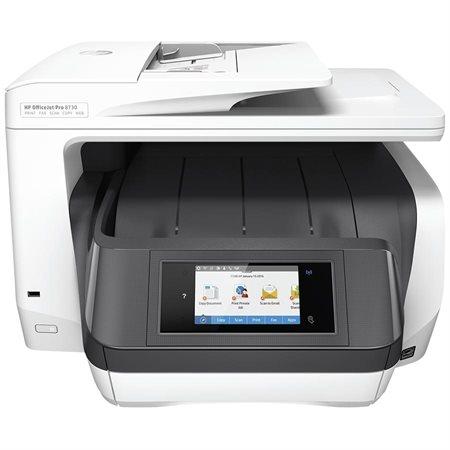 Imprimante jet d'encre multifonction couleur sans fil OfficeJet Pro 8730