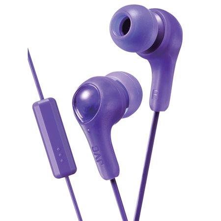 Écouteurs Gumy PLUS avec télécommande et micro