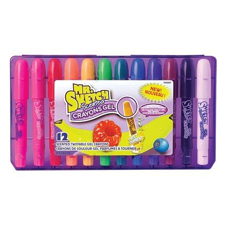 Crayons de couleur gel parfumés à tourner Mr. Sketch Scented™