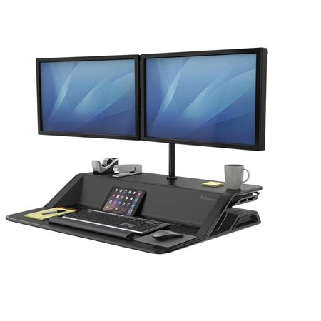Lotus™ Convertible Sit Stand Workstation
