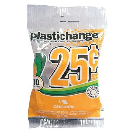 Rouleau pour monnaie Plastichange