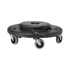 ROUND DOLLY FOR BRUTE CONT. BLK
