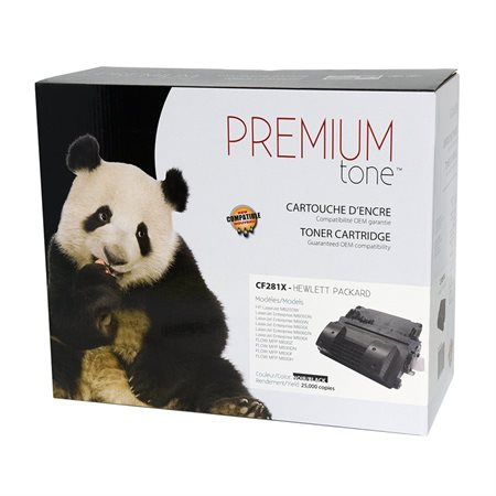 High Yield Compatible Toner Cartridge (Alternative to HP 81X)