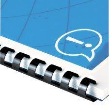 CombBind® Binding Comb 1-1 / 2 in. Capacity of 330 sheets. black