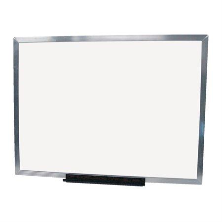Tableau blanc effaçable à sec magnétique économique avec cadre en aluminium