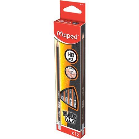 Crayon à  mine HB Black Peps
