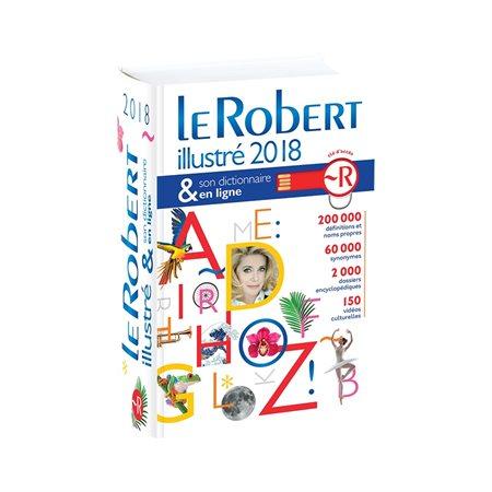Dictionnaire Le Robert illustré 2018