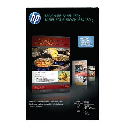 Papier lustré pour brochures