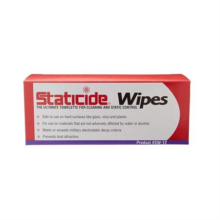 Lingettes nettoyantes et antistatiques Staticide®