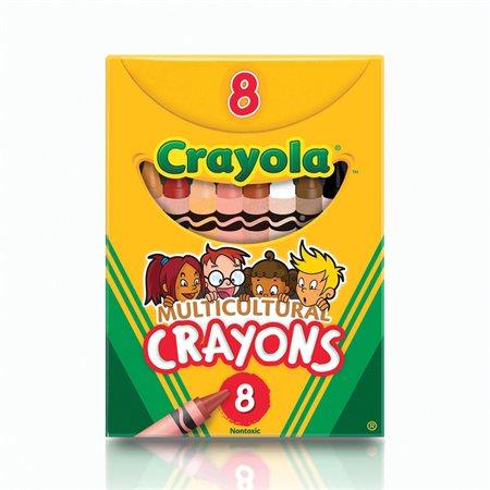 Crayons de cire Multiculturel