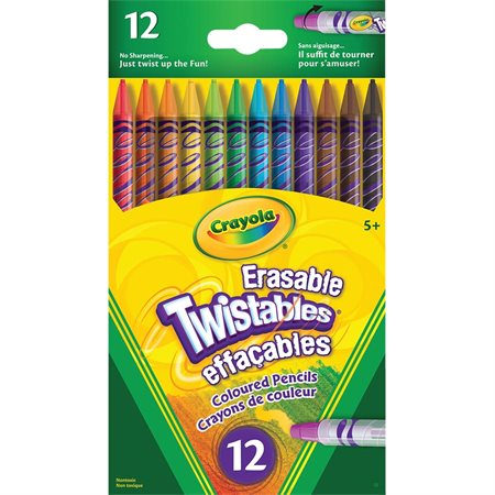 Twistable® Erasable Colouring Pencils