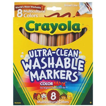 Marqueurs de couleur Multicultural
