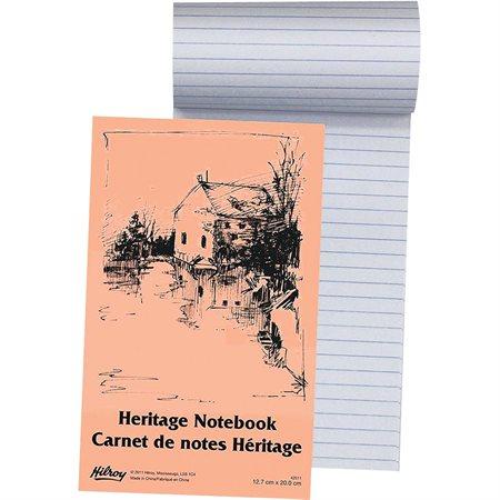 Carnet de notes ligné Heritage