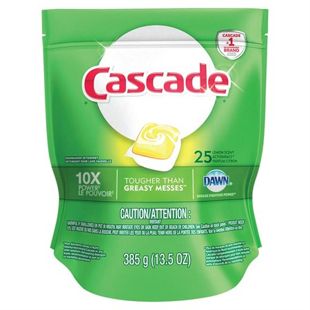Cascade 2-in-1 Action Pacs® Dishwasher Detergent