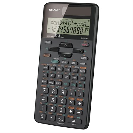 Calculatrice scientifique EL520XTBBK