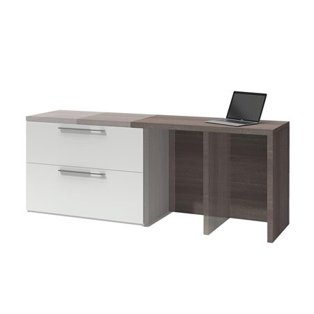Small Space Compact Workstation