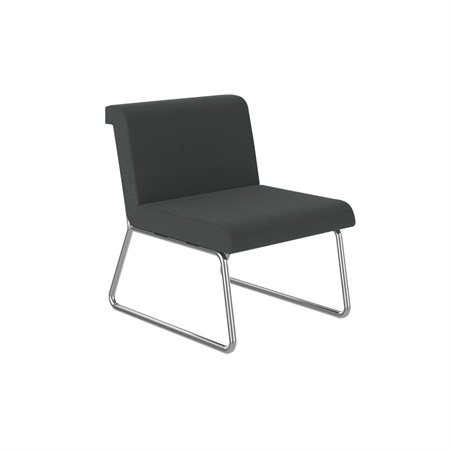 Armless single seat