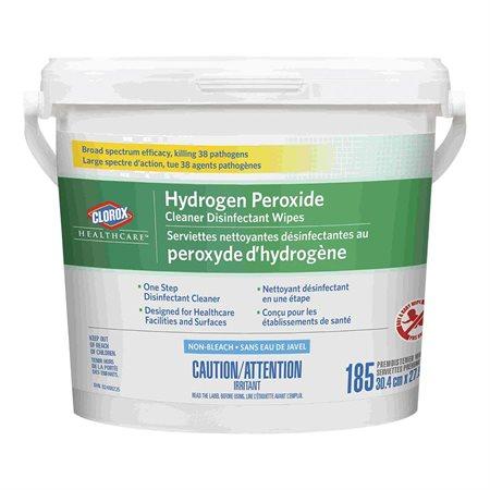 Serviettes nettoyantes désinfectantes au peroxyde d'hydrogène Healthcare™
