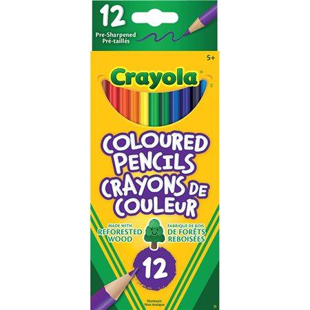 Crayons à colorier en bois Crayola®
