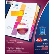 Ready Index® Dividers
