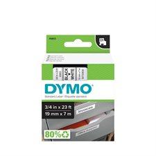 """DYMO RUB.CART.3 /  4""""NOIR /  B"