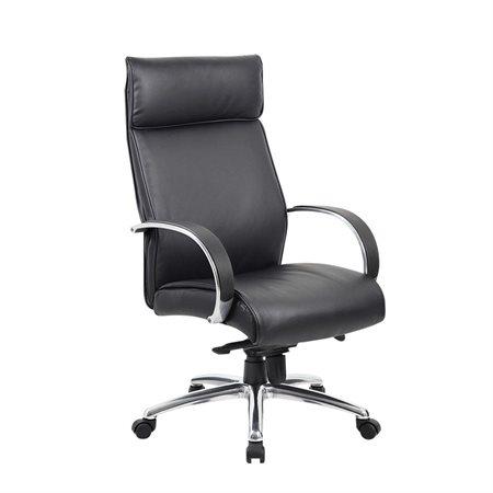 High-Back Executive Knee Tilter Armchair