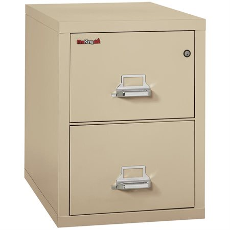 """25® Series Fireproof Vertical File 2 drawers, 27-3 / 4""""H parchment"""