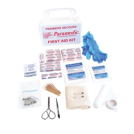 Plastic First Aid Safety Kit