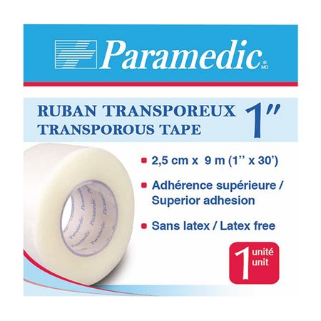 Transporous Medical Tape