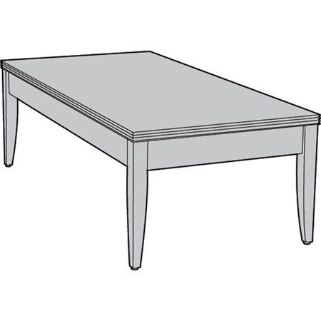 """TABLE A CAFE CONTEMP.49X24"""" AC"""