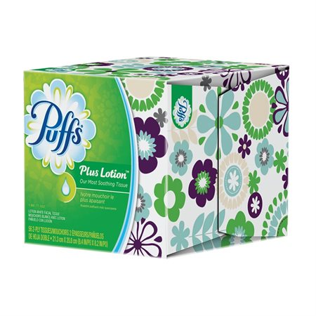 Puffs® Plus Lotion with The Scent of Vicks Facial Tissues