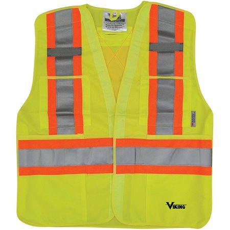 5-Point Safety Vest Lime L-XL
