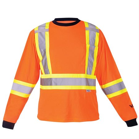 Safety Cotton Lined Long Sleeve Shirt