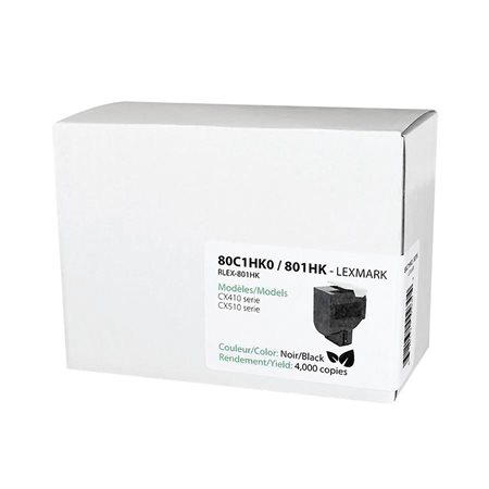 Ecotone 801Hx Remanufactured Toner Cartridge