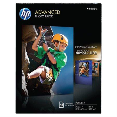 Advanced Photo Paper Gloss Finish letter (50)