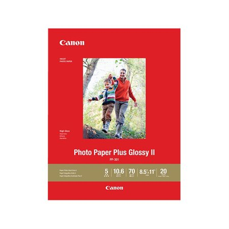 Photo Paper Plus Glossy II Photo Paper
