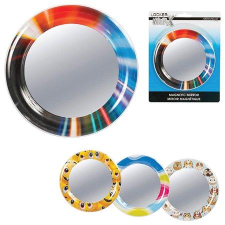 Locker WorX™ Magnetic Round Mirror