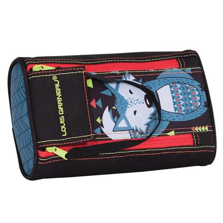 Wolf 2-Zipper Pencil Case