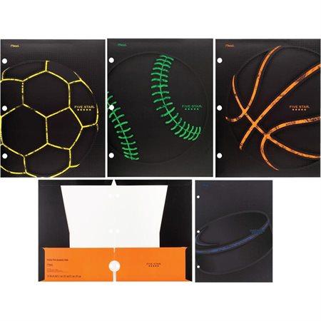 Sports 4-Pocket Folder