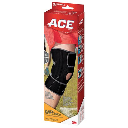 200290 SUPPORT KNEE BRACE W / SIDE STAB ADJ