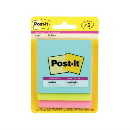 Post-it® Super Sticky Notes
