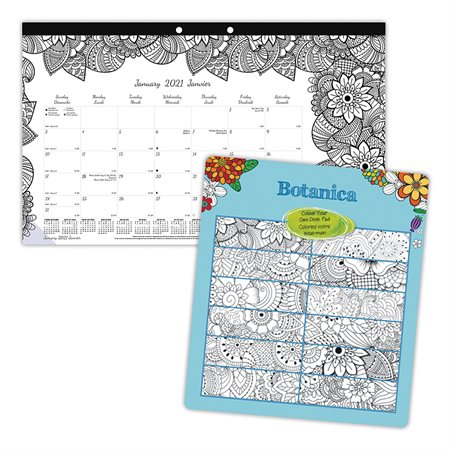 DoodlePlan™ Colouring Desk Pad