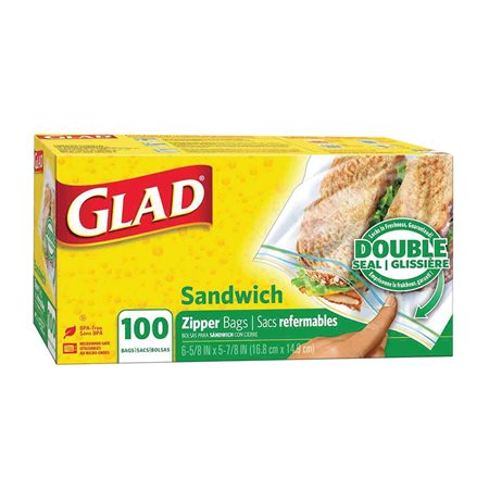 Glad® Reclosable Bag